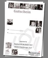 Gutschein Akt und Dessous Fotografie